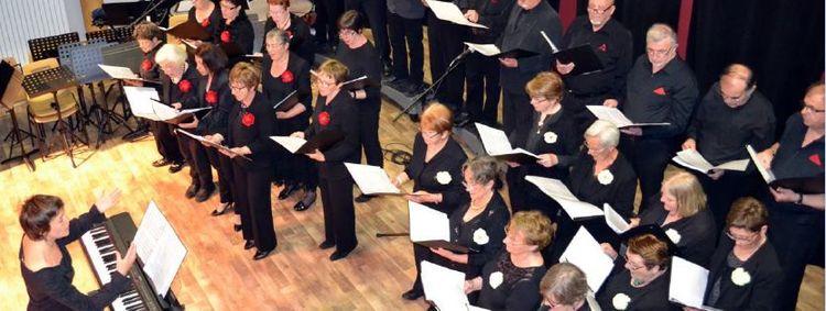 Chorale Chant'Aux Vents, sous la direction d'Aloyse BROSSE